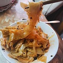 简易凉皮(饺子皮版)
