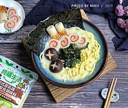 纯膳生活 日式豆乳拉面的做法