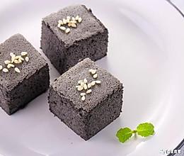 黑芝麻山药糕 宝宝辅食食谱的做法