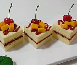 方块小蛋糕的做法