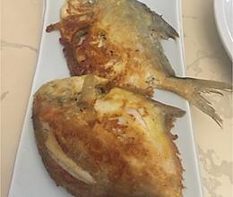 香煎平鱼的做法