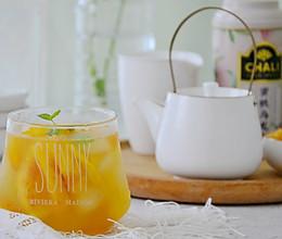 #餐桌的夏天# 蜜桃乌龙冷萃茶的做法