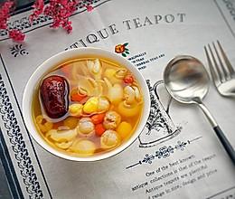 百合白果甜汤#膳魔师南甜主题月#的做法