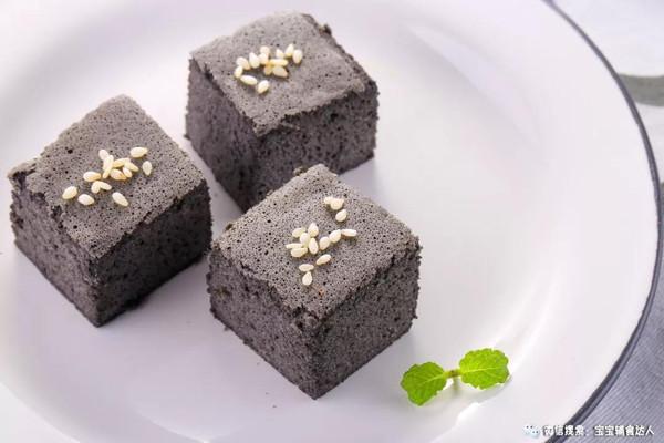 黑芝麻山药糕 宝宝辅食食谱