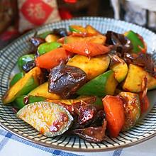 黄瓜炒木耳菜