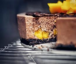 8寸巧克力芒果慕斯的做法