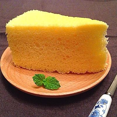 柠檬全蛋海绵蛋糕--美的T3-L381B烤箱试用之一