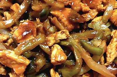韓式炸菜肉絲