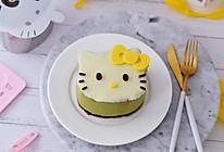 4寸KT猫抹茶慕斯蛋糕的做法
