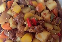 萝卜土豆烧牛腩的做法