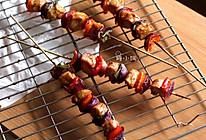 【彩椒鸡肉烤串】的做法