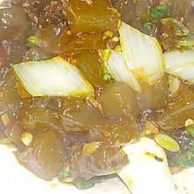 小白菜炒凉粉