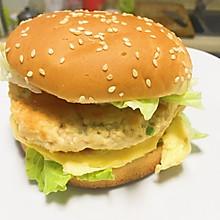 鸡肉能量汉堡