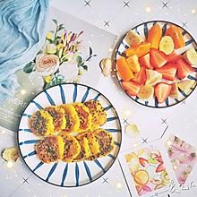 简单营养早餐——红薯糯米饼