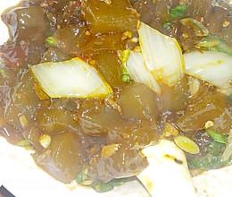 小白菜炒凉粉的做法