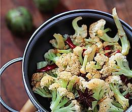 干煸花菜的做法