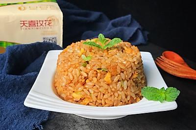酱油炒饭~消灭剩米饭的好方法