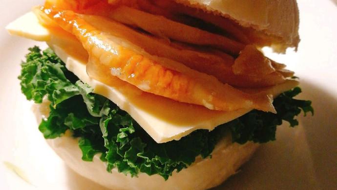 手工鸡胸三明治