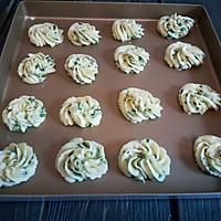 葱香曲奇饼干#樱花味道#的做法图解11