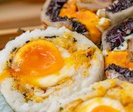 #我们约饭吧#台湾爆浆炸蛋饭团丨一口满足的做法