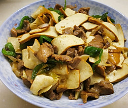 不加一滴油版-攸县香干炒辣椒肉的做法