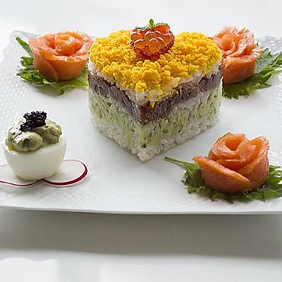 小薇de美食|圣诞海鲜寿司