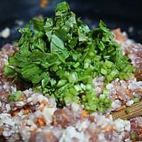 养生和美味兼得的香菜豆腐肉饼#我买新鲜味#的做法图解4