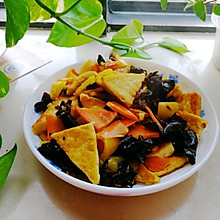 #憋在家里吃什么#零失败的豆腐杂蔬炒