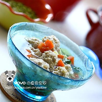 蔬菜牛肉丸汤