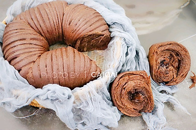 【巧克力毛线球面包】给豆果生日加点甜