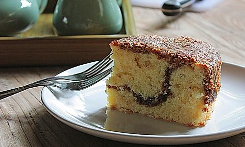 酸奶咖啡蛋糕的做法
