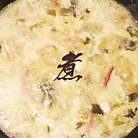 酸菜鱼片的做法图解5