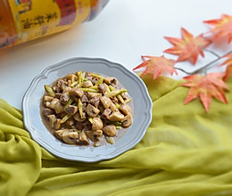 黑胡椒牛肉炒蘑菇#金龙鱼外婆乡小榨菜籽油 外婆的食光机#的做法