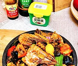 #一勺葱伴侣,成就招牌美味#宿舍记忆干锅虾的做法