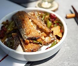 #少盐饮食 轻松生活#无盐香煎带鱼|酥香不软烂很简单的做法
