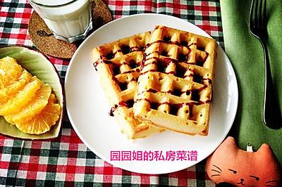 """慵懒假日首选brunch--""""德国传统华夫""""!"""