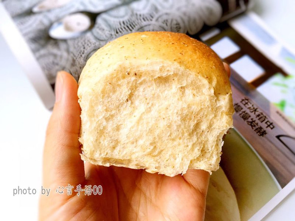 一次发酵100%全麦面包(液种法)