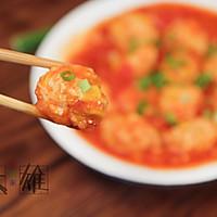 减脂健康菜:番茄玉米鸡肉丸子的做法图解7