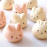 萌萌月兔烧果子,松软香甜,最佳春节手工点心的做法图解12