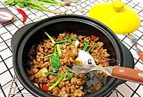 黑乐砂锅啫啫生肠的做法