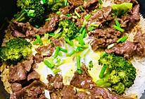 电饭锅窝蛋牛肉饭的做法
