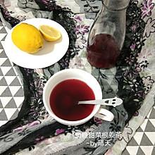 #夏日冰品不能少#黑糖果蔬饮&黑糖甜菜根姜茶|独家