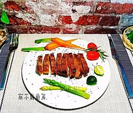 #肉食者联盟#零难度的西冷牛排~在家也可以很有仪式感哦~的做法