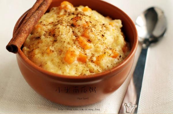 暖冬养胃组【小米南瓜粥】的做法