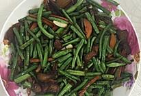 豇豆炒肉东北版的做法