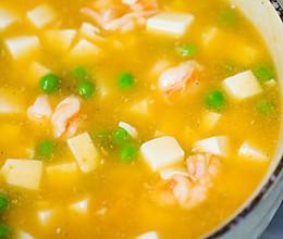 用一道虾仁豆腐羹征服全家人的胃!的做法