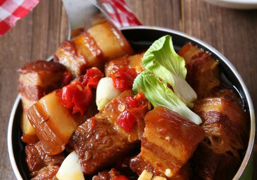 剁椒红烧肉的做法