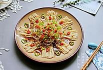 #晒出你的团圆大餐# 金银蒜粉丝蒸金针菇的做法