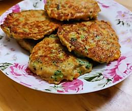 低脂又好吃的蔬菜鸡肉饼的做法