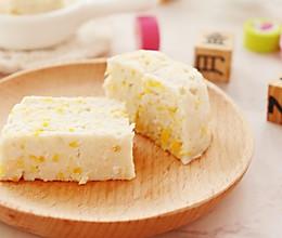 玉米鱼糕 宝宝辅食的做法